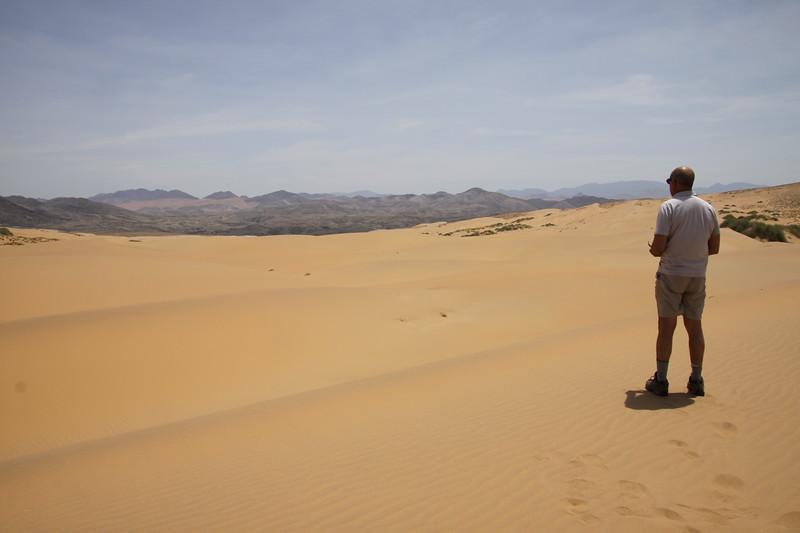Chuck in the desert