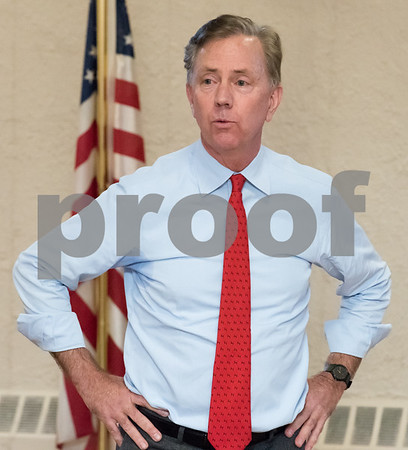 03/15/18 Wesley Bunnell   Staff Candidate for Governor Ned Lamont speaks at the Pulaski Club on Thursday evening as he along with other Democratic candidates for state office met with the Democratic Town Committee as well as New Britain residents.