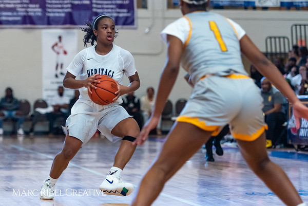 Heritage women's basketball vs St. Fances. John Wall Holiday Invitational championship game. December 29, 2018. 750_0128