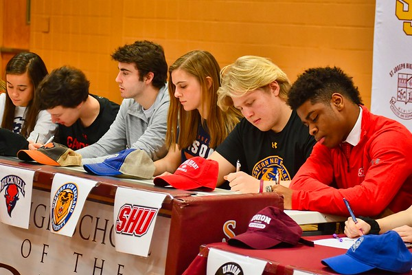 2020 National Letter of Intent Signing - Winter
