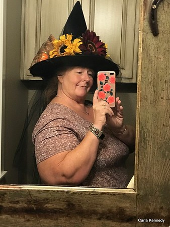 2019 09-28 A creative day, Stillettos and witch hat