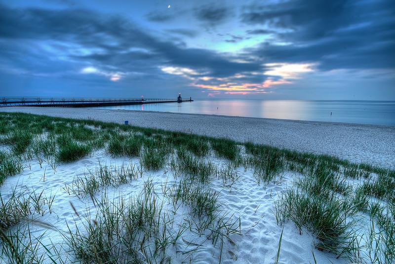 Evening from Dunes, St. Joseph