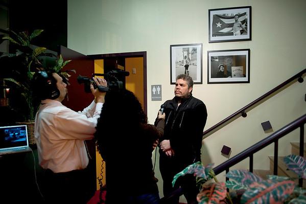 Photographer Ricky Flores Artist Talk at Teatro Pregones
