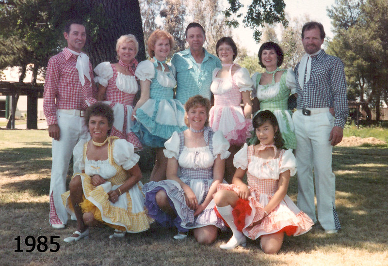 Blossom Hill Cloggers at NCCA Convention 1985