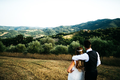 Katie and Mark Casa Bruciata