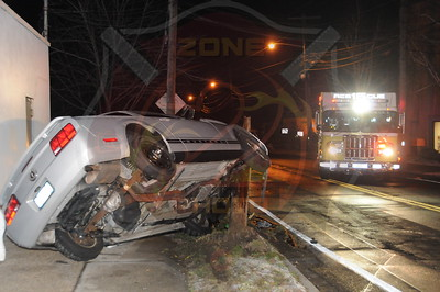 Amityville F.D. 2 MVA's w/ Overturns County Line Road 2/6/12 Oak St. and Rt.110 2/9/12