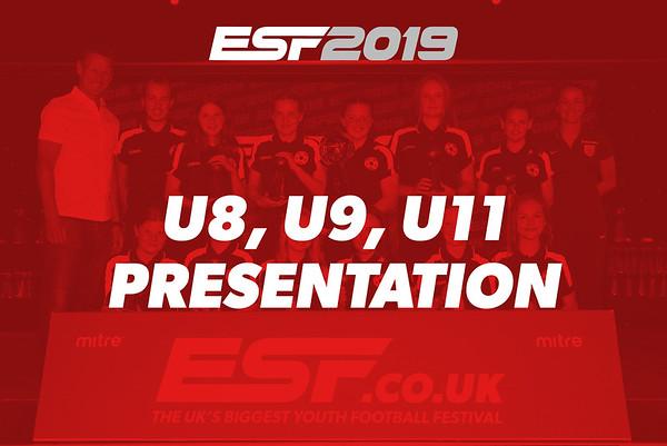 U8, U9, U11 PRESENTATION
