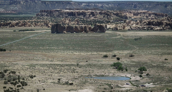 Acoma Pueblo with My Father Victor McLane