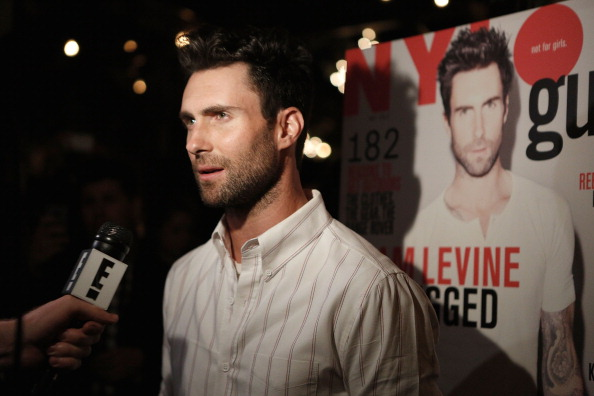 . LOS ANGELES, CA - APRIL 25:  Adam Levine attends NYLON Guys and ASOS celebrate April/May cover star Adam Levine at Dominick\'s Restaurant on April 25, 2013 in Los Angeles, California.  (Photo by Mike Windle/WireImage)