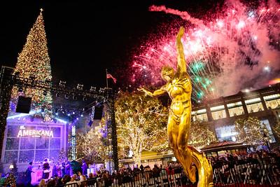 11.14.19 The Americana at Brand Tree Lighting