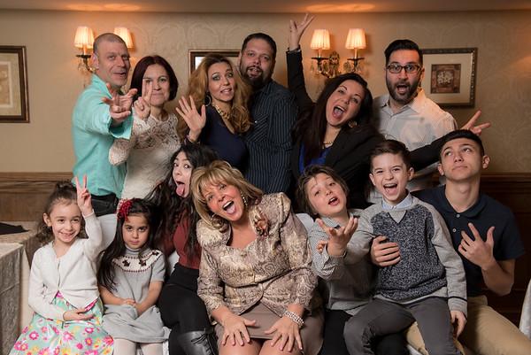 Tina Calleri's 60th Birthday Dinner at Peter's Fine Dining - Friday, January 29, 2016