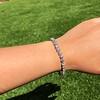 9.50ctw Round Brilliant Diamond Tennis Bracelet 46