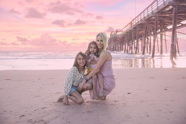 Jennie and Girls Beach 2020