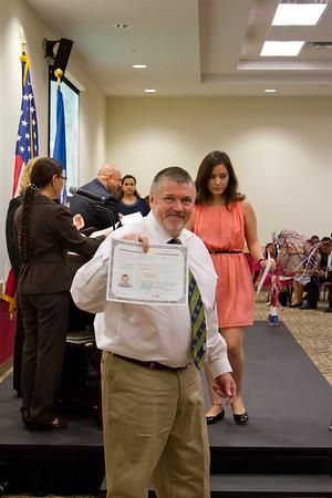 Charl Sr. Citizenship Ceremony