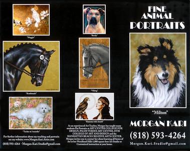 Morgan's Animal Portrait Brochure
