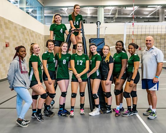 2018-2019 Stevenson University Lady's Volleyball