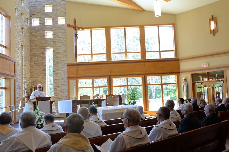 Fr. John gives the homily