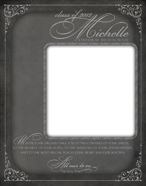 Chalkboard - Full Page Template #1