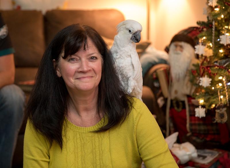 Mom with Bird on Shoulder.jpg