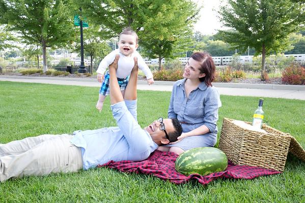 Logan & family 6 months