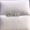 1.54ctw Antique Cushion Cut 3-stone Suite 10