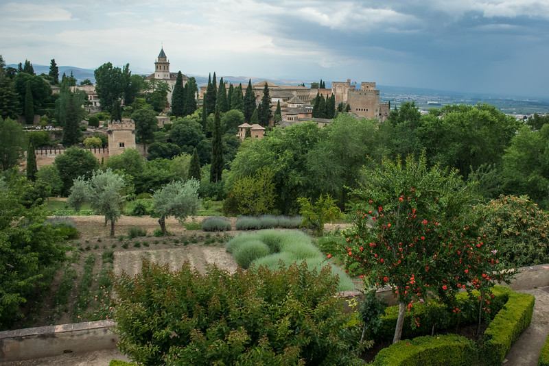 Alhambra was a fortress and palace