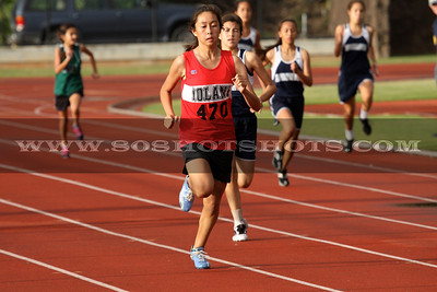 030510 Girls Inter 400m