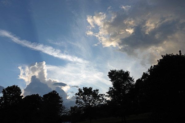 July 21:  More great clouds .  .  .