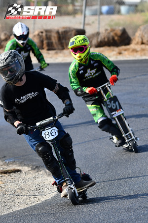 Go Ped Racer # 86