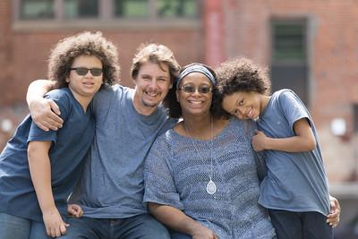 Browne-Pohlman Family- Shemeka, Joe, Joshua, Evan- Westfield, MA