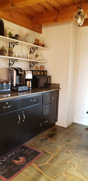 Pantry with Coffee Bar