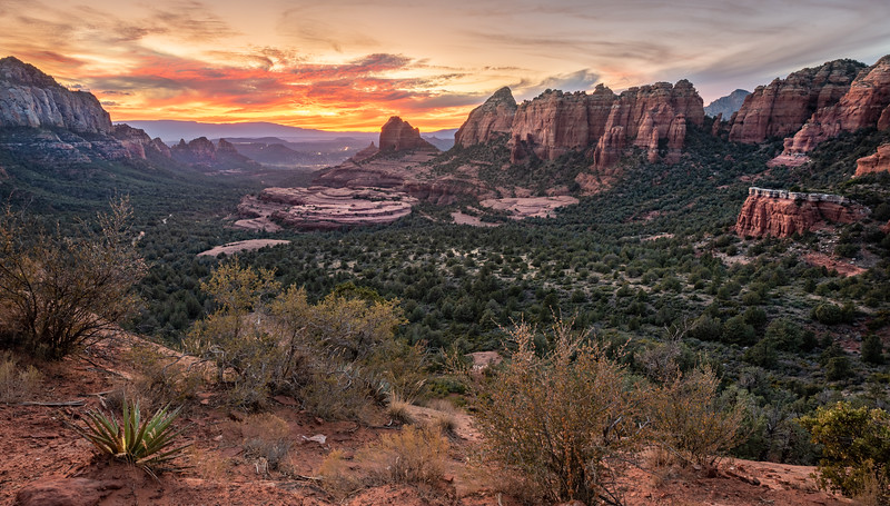 View from Schnebly Hill into Sedona