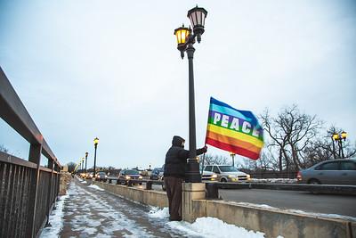 No War on Iran, WAMM Peace Vigil, January 8