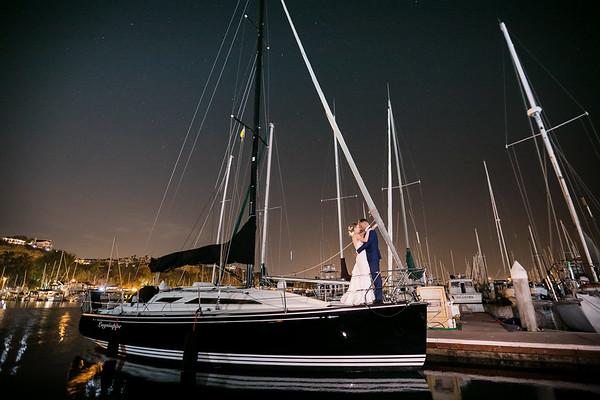 Dana Point Yacht Club Wedding | Breah and Josh