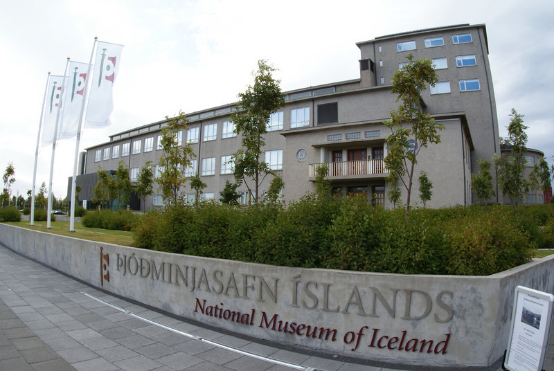 While Jenni and the Attache went to a flea market, I headed to the  National Museum of Iceland.