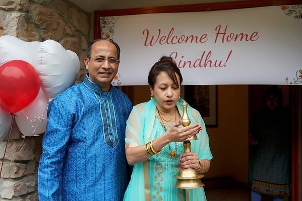 Welcome home Sindhu!