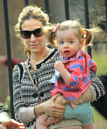 2011-04-09 - Sandra Bullock and Louis Bardo, Sarah Jessica Parker and Twins, Emmy Rossum