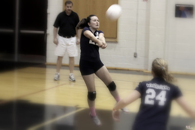 STA DPL Volleyball - STA vs St Paul and St Elizabeth (10/1/2011)