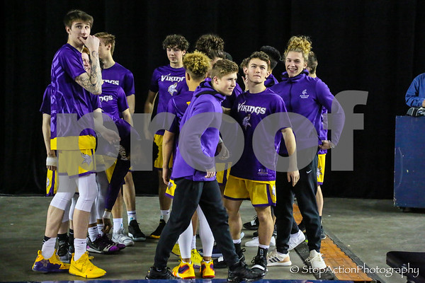 2019-02-28 State 4A Boys Basketball - Mount Si vs Puyallup