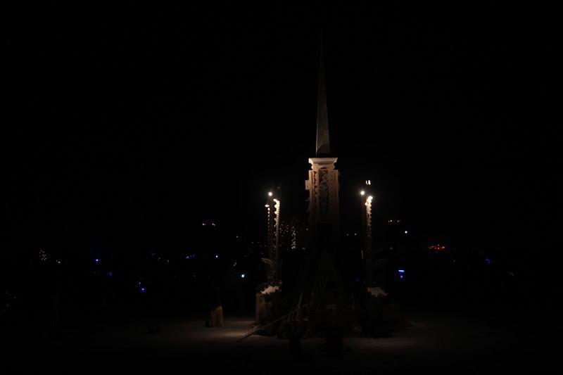 Larry Harvey memorial temple