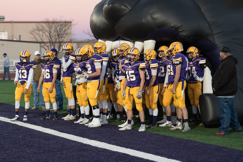 Panhandle Panthers vs West Texas, 11-2-2018