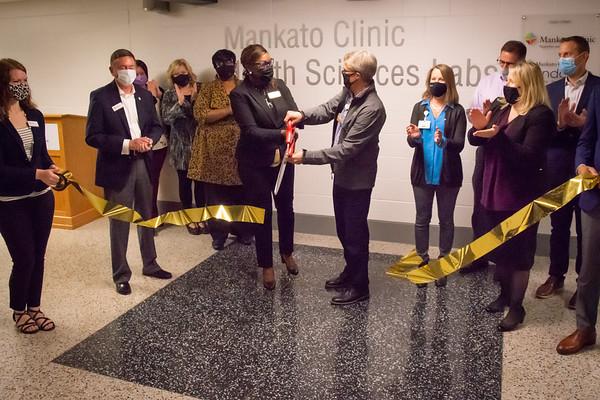 Health Sciences Lab Ribbon Cutting 9-28-2020