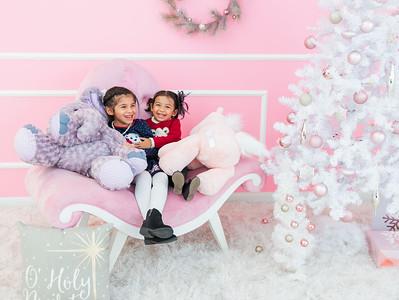 Reyes family Christmas 2019