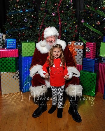 Holiday Open House with Santa Portraits