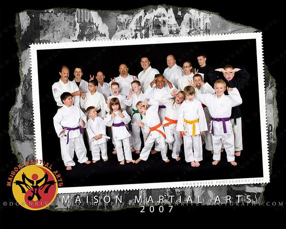 2007 MMA Team Photo - 8x10 size