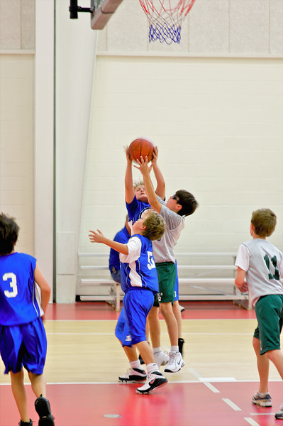 Fourth Grade Basketball vs. TCS, February 7, 2009