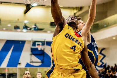 Men's Basketball - Queen's at Ryerson 20140215