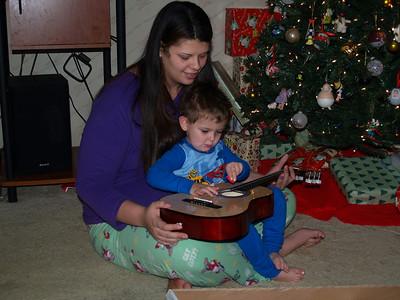 Christmas Morning 2008