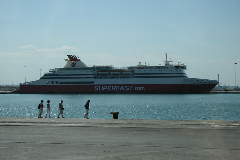 2008 - SUPERFAST VI in Bari.