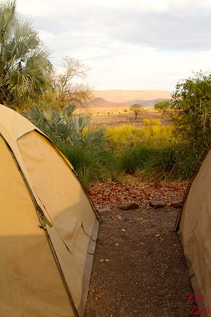 Wild camping in Namibia 2